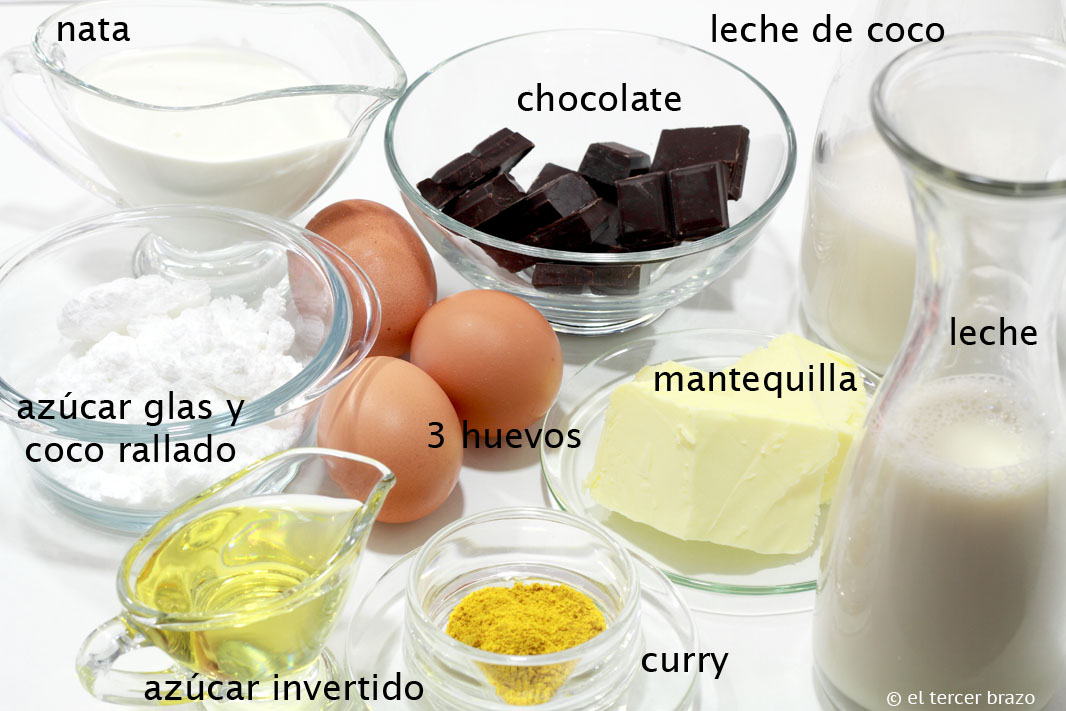 Ingredientes Crema especiada
