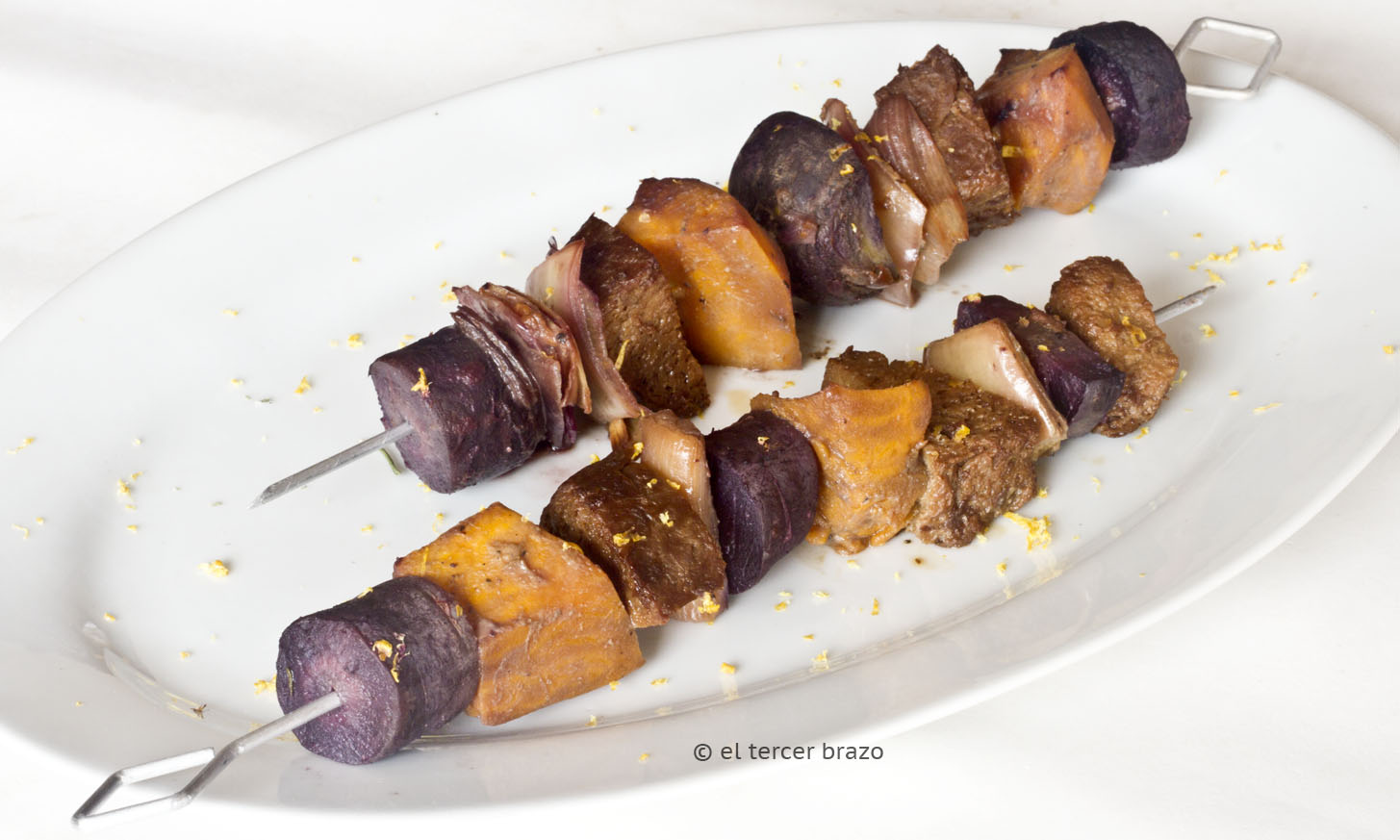 Falsa brocheta de lomo